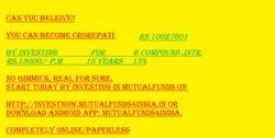 Mutual Funds Investment Planning Service Online, Monthly