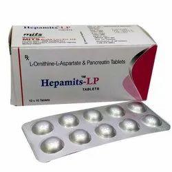 L-Ornithine L-Aspartate   Pancreatin  Tablets
