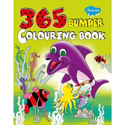 Jumbo Colouring Books 4 Different Books