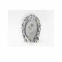 Royal Oval Silver Photo Frame
