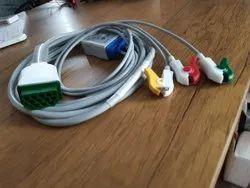 HB-EC-04_5C 5 Lead ECG Cable