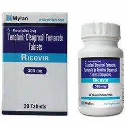 Tenofovir Disoproxil Fumarate (300mg) Tablet