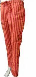 J G Trawsar Ledis Handloom khadi Women Pants, 130, Waist Size: 38-40-42-44