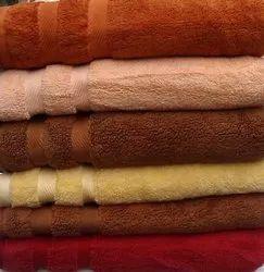 FSI Blue Cotton Bath Towel Set OF 2, 550-650 GSM, Size: 30x60 & 16x28 & 13x13 Cm