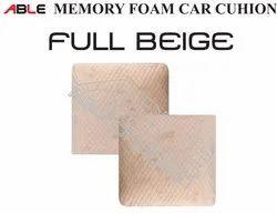Velvet Able Memory Foam Car Cushion