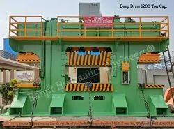 Hydraulic Deep Draw Press 1200 Ton