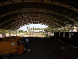 MS Construction Site Industrial Shed