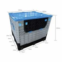 UP Two Way-four Way Plastic Pallet Box