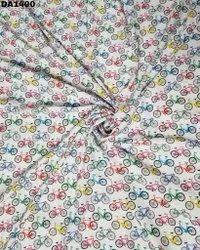 Diamond Silk Digital Print Fabric