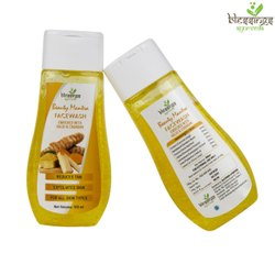 Herbal Yellow Haldi Chandan Face Wash, Gel, Age Group: Adults