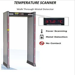 Temperature Scanner Metal Detector Gate 27 Zone