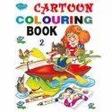 Cartoon Colouring Books 4 Different Books