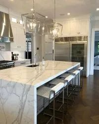 Waterfall Island And Countertop Package For Kitchen