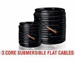 Submersible 3 Core Flate Cables 2.5sqmm