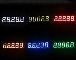 7 Segment LED Display Five Digit