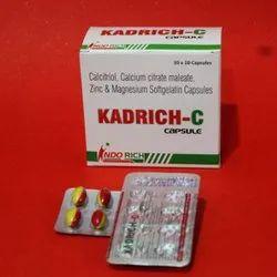 Calcitriol Calcium Citrate Maleate Zinc and Magnesium Softgelatin Capsules