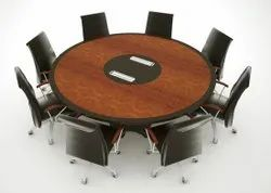 BIG ROUND CONFERENCE TABLE