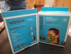 VISSCO REUSABLE MASK, Number of Layers: 6