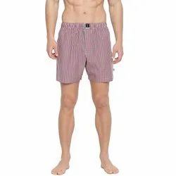 Checky Chic Boxers Red & Blue Short