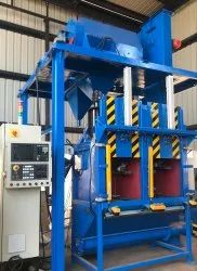 Dual Chamber CNC Grit Blasting Machine, For Industrial, Automation Grade: Automatic