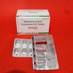 Mefenamic Acid and Drotaverine HCL Tablets