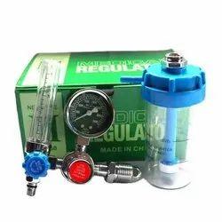 Oxygen Pressure Regulators Kit With Flowmeter & Humidifier