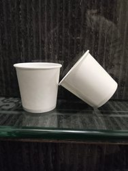 100 ml White Paper Cups
