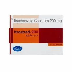 Itrostred 200 Mg Capsules