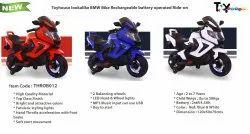 Kids 6V Battery Operated Toyhouse BMW Bike