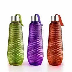 Plastic Multicolor Bubble Shape Water Bottle Set Of 3, Capacity: 1000ml