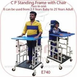 C P Standing Frame With Chair Two In One
