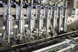 AUTOMATIC ROTARY PISTON PUMP LIQUID FILLING MACHINE