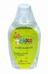KIDCO BABY HAIR OIL, Packaging Type: Bottle, Packaging Size: 200 Ml