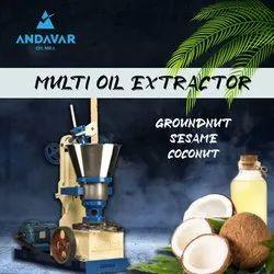 Dry Coconut Oil Mill Machine