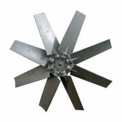 aluminum Silver Axial Flow Fan Blade, Size: 10 Inch To 50 Inch