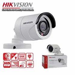 1920 x 1080 Day & Night Hikvision Hdtvi Bullet Camera, Camera Range: 20 to 30 m
