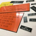 Industrial Name Tags / Labels