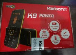 Black Karbonn K9 Power