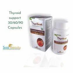 Thyriscot Thyroid Support Capsules, Grade Standard: Food Grade, Packaging Type: Bottle