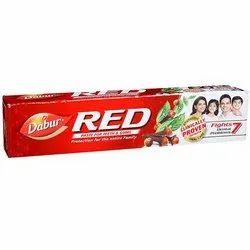 Herbal Laung, Pudina & Tomar Dabur Red Toothpaste 100 Gm, Packaging Size: 100,200 & 300 Gm