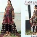 Pure Lawn Print Pakistani Suit