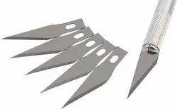 Silver High Speed Steel Interchangeable Sharp Blades, Packaging Type: Box