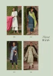 Itrana Present Raas Cambric Cotton Summer Wear Fancy Salwar Kameez