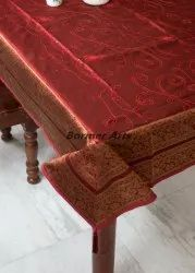 Dining Table Cover Embroidery Work