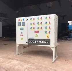 50 Hz Mild Steel Automatic Power Factor Control Panel Board, For Cement Plant, 415 V