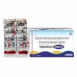 Valpodium 200 CR Tablets