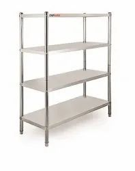 SS Storage Rack 4 Shelves