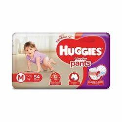 Cotton Huggies Wonder Pant M 54, Size: Medium, Packaging Size: 27 X 14 X 36.5 Cm