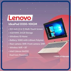 Lenovo TAB Ideapad D330-10IGM (2 in 1 )