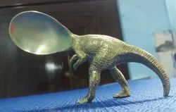 Antique Decorative Brass Spoon, For Home